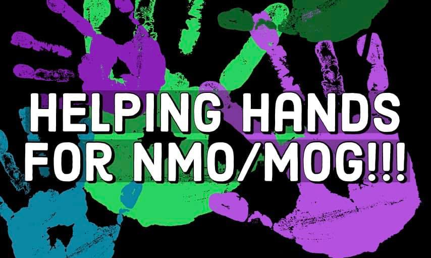 NMO MOG Our fight for a cure Support Group Logo
